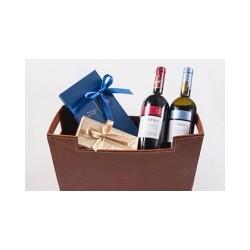 Καλάθι Δώρου με κρασιά